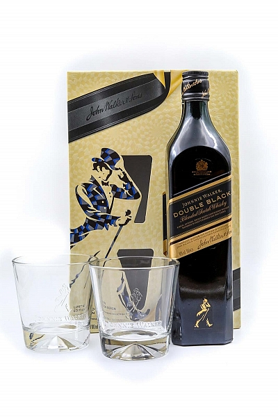Johnnie Walker Double Black - Glass pack