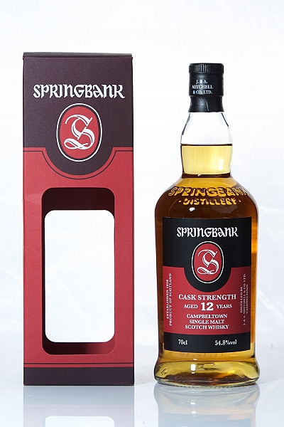 Springbank 12 Year Old 54.8%