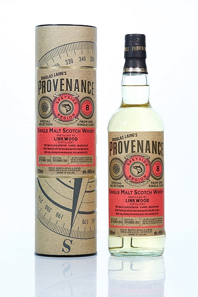 Linkwood 2010 8 Year Old - Provenance