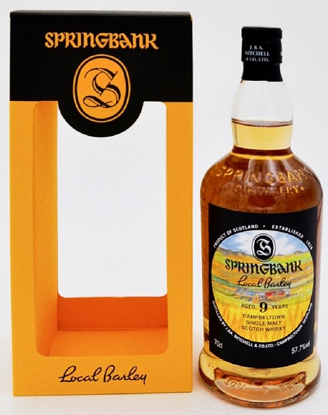 Springbank 9 Year Old - Local Barley