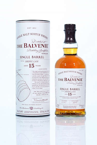 Balvenie 15 Year Old Single Barrel - Sherry Cask