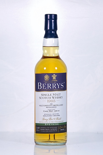 Miltonduff 1995 20 Year Old Berry Bros. & Rudd