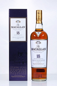 Macallan 18 Year Old 2017   (Scotch Imported Japan)