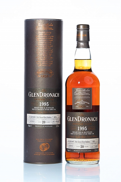 GlenDronach 20 Year Old 1995 - Cask 4074