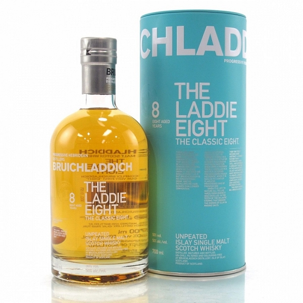 Bruichladdich 8 Year Old - The Laddie Eight