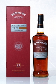 Bowmore 1989 23 Year Port Matured