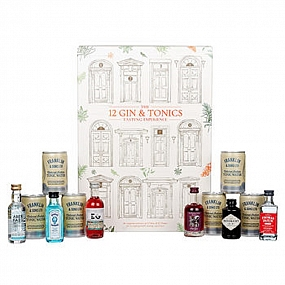 The 12 Gin & Tonic Tasting Experience Gift Set