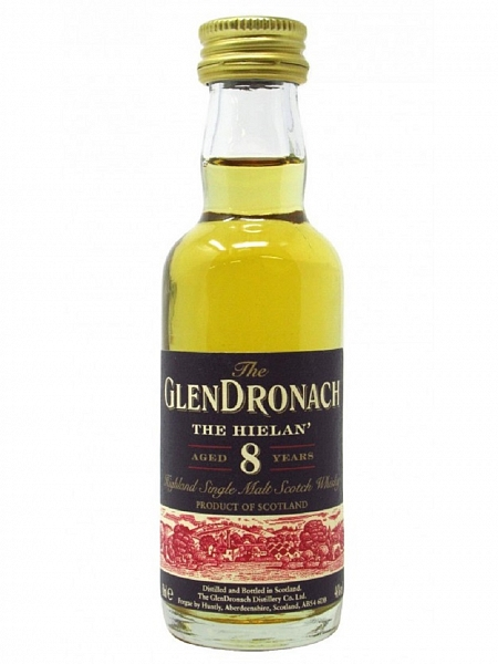 Glendronach 8 Year Old The Hielan - 5cl Miniature