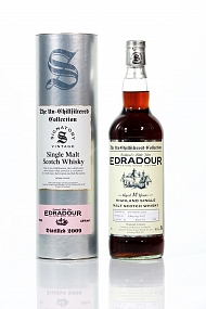 Edradour 10 Year Old 2009 Signatory Un-Chillfiltered