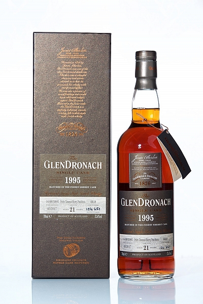 Glendronach 1995 21 Year Old Cask 4418