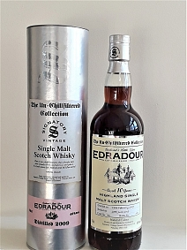 Edradour 2009 10 Year Old Signatory Un-Chillfiltered - Cask#43
