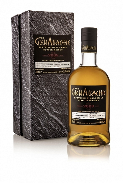 GlenAllachie 2008 - 10 Year Old - Single Cask#586