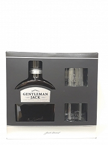 Jack Daniel's Gentleman Jack - Box Set  2 Glasses Included