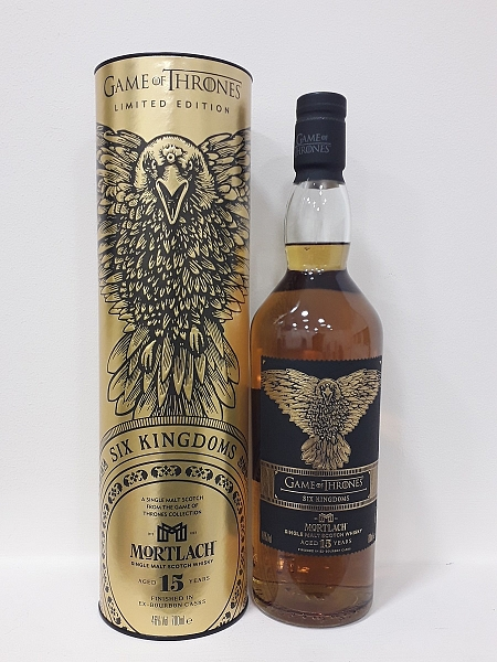Mortlach 15 Year Old  Six Kingdoms - Game of Thrones Single Malts Collection