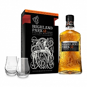 Highland Park 12 Year Old - 2 Glass Pack