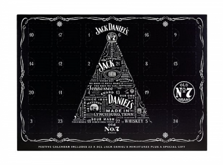 Jack Daniel's Advent Calendar 23x5cl