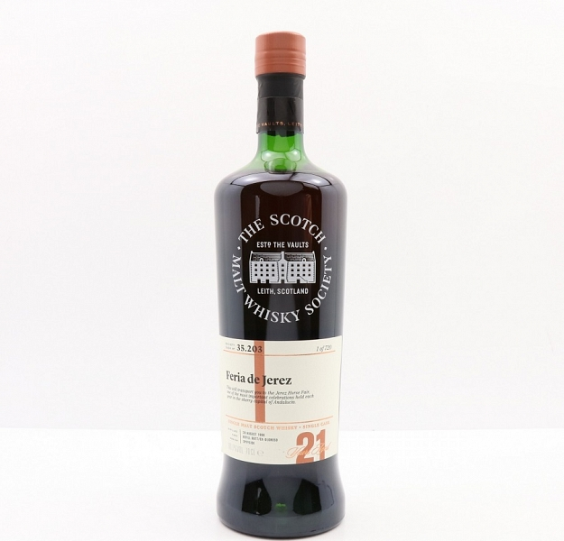 SMWS 35.203 - Glen Moray 21 Year Old