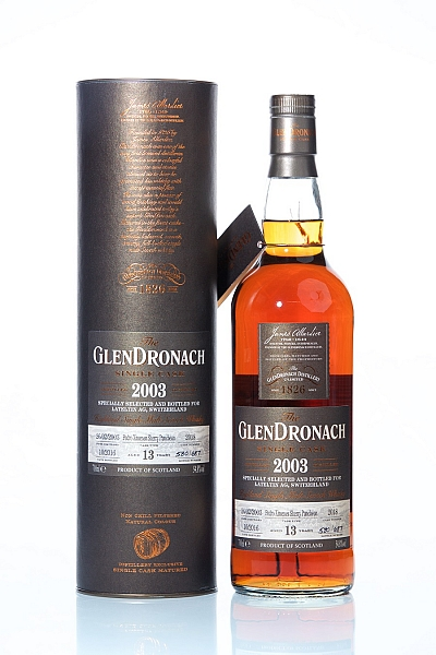 Glendronach 2003 13 Year Old Cask 2018