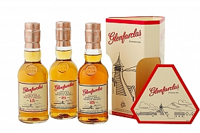 Glenfarclas Gift Pack 15, 21, 25 Year Old 3x20cl