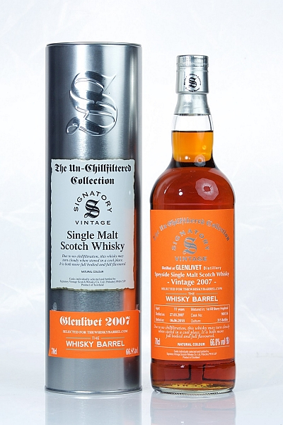 Glenlivet 11 Year Old 2007 Signatory Exclusive