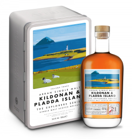 Arran 21 Year Old - Kildonan & Pladda Island -  Explorers Series Volume 3
