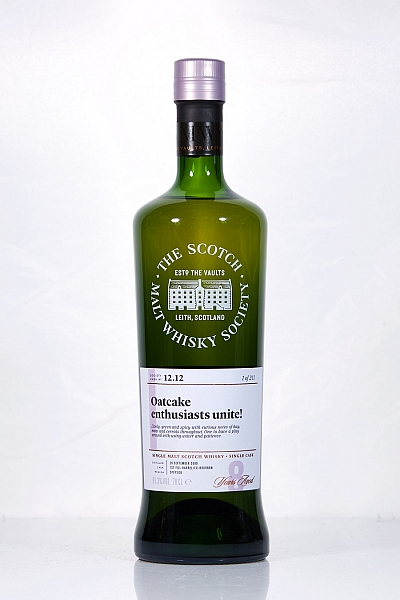 BenRiach 2009 8 Year Old SMWS 12.12 - Oatcake enthusiats unite!