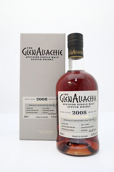 Glenallachie 2008 Single Cask - Cask#1867