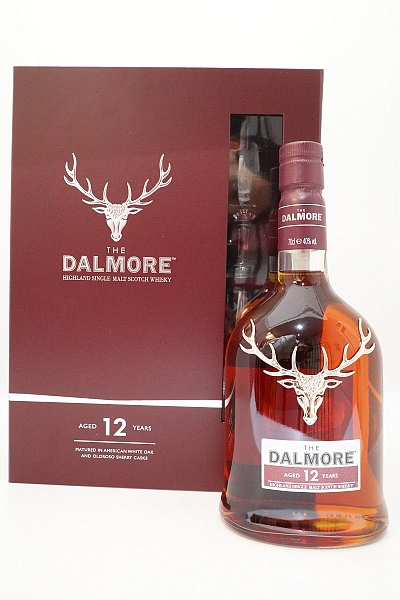 Dalmore 12 Year Old Single Malt Whisky - Gift Pack