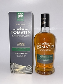 Tomatin 2006 - Fino Sherry Cask Finish - UK Exclusive