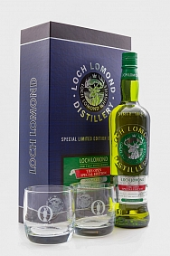 Loch Lomond - The Open Special Edition - Gift Pack with 2x Glasses