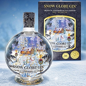 Snow Globe Gin - Orange & Gingerbread