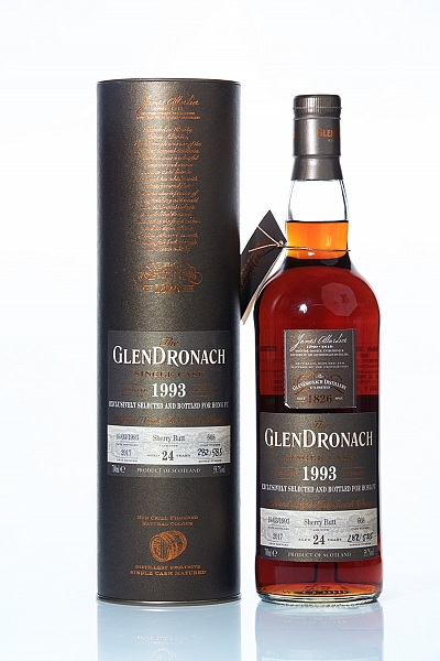 GlenDronach 1993 24 Year Old Cask 668