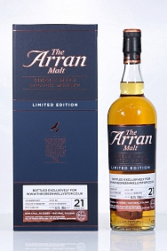 Arran 1997 21 Year Old Cask 841