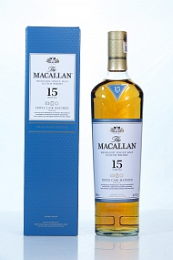 Macallan 15 Year Old Triple Cask