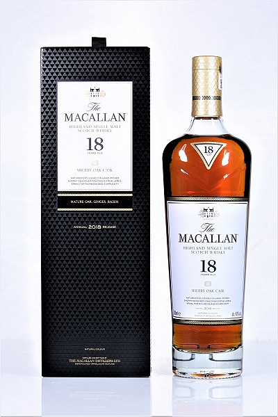 Macallan 18 year Old 2018 (Scotch Imported Japan)