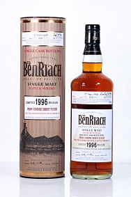 BenRiach 1996 18 year Old Cask 3607 - UK Exclusive