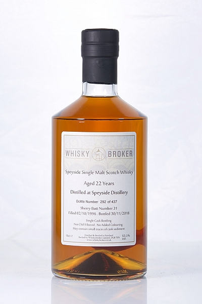 Speyside 22 Year Old (Whb)