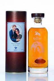 The English Whisky Company Royal Wedding 2018 Harry & Meghan